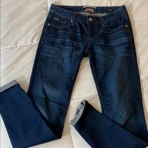 Like new Express ReRock skinny jeans-0